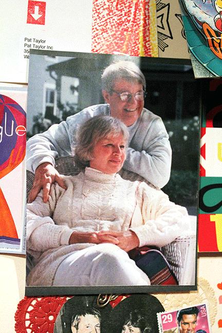 Pat Taylor with Nancy
